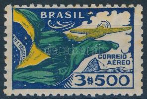 1933 Légiposta bélyeg Mi 388 (rozsdás / stain)