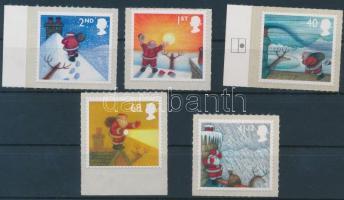 2004 Karácsony 5 öntapadós érték Mi 2258-2259 I, 2260,2262-2263 I
