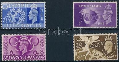 1948 Nyári olimpia, London sor Mi 237-240