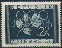 1952 Olimpiai játékok, Oslo és Helsinki 1 érték Mi 969