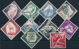 1953 Nyári olimpia, Helsinki sor Mi 458-467