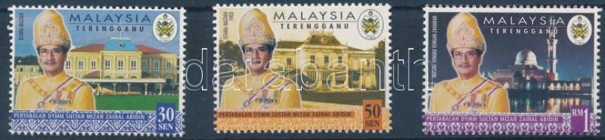 Trengganu Sultan Mizan Zainal Abidin set Trengganu Mizan Zainal Abidin szultán sor