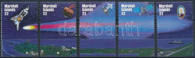 1985 Halley-üstökös sor Mi 62-66