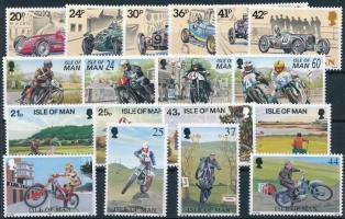 1995-1997 18 diff stamps with sets, 1995-1997 18 klf bélyeg, közte sorok