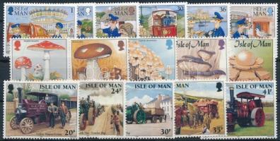 1994-1995 16 klf bélyeg, közte sorok