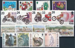 1992-1996 17 klf bélyeg, közte sorok + párok