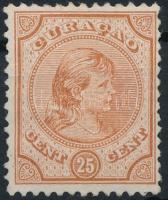Curacao 1892 Wilhelmina hercegnő Mi 28