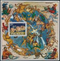 Dürer paintings; Space exploration block, Dürer festmény; Űrkutatás blokk