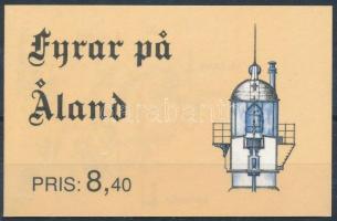 Világítótornyok bélyegfüzet Lighthouses stamp booklet
