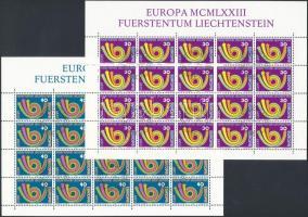 Europa CEPT minisheet set with First Day Cancellation, Europa CEPT kisív sor elsőnapi bélyegzéssel