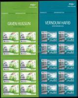Europa CEPT, Environmental Awareness 2 diff self-adhesive stampbooklets Europa CEPT, Környezettudatosság 2 db klf öntapadós bélyegfüzet