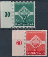 1935 Birodalmi szakmai verseny Mi 571-572 ívszéli