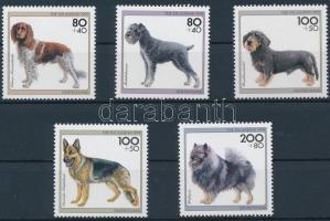 1995 Kutyák sor Mi 1797-1801
