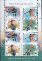 2008 WWF: Búbos banka kisív Mi 453-456