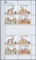 2010 WWF: Fakó lóantilop kisív Mi 3658-3661