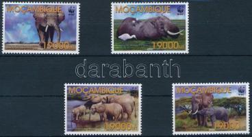 2002 WWF: Afrikai elefánt sor Mi 2393-2396