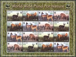2003 WWF: Puku mocsári antilop kisív Mi 721-724