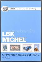 Michel Liechtenstein speciál katalógus 2014/2015 új állapotban