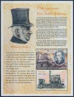 2000 175 éves az állami vasúti személyszállítás kisív Mi 3525-3526