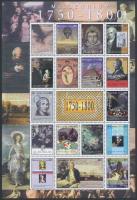 2000 Millennium (I) kisív Mi 3371-3387