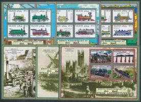 2004 Vonatok kísívsor Mi 4338-4361