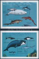 Whales and sharks block set, Bálnák és cápák blokksor