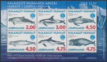 Whales (III) block, Bálnák (III) blokk
