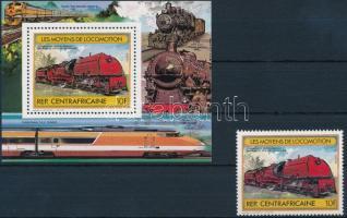 Railway + block, Vasút + blokk