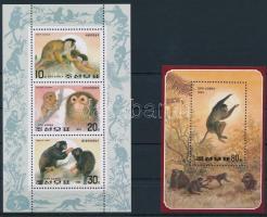 Year of Monkey minisheet + block, A majom éve kisív + blokk