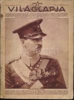 1930 Bp., Tolnai Világlapja XXXII. évfolyam 25. szám, címlapon II. Károly Románia királya, 65p