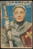 1936 A Színházi Élet 9. száma, címlapon Bulla Elma, sok fotóval, 114p
