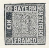 Bélyegkiállítás alkalmából készített feketenyomat Black print for Stamp Exhibition