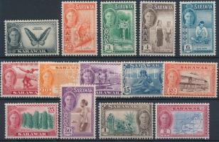 Sarawak 1950 Forgalmi 14 érték Mi 171-176, 178-185