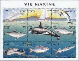 1997 Tengeri állatok kisív Mi 1860 -1868
