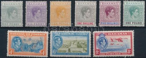 1938/1948 Forgalmi 9 érték Mi 105, 110, 113-119