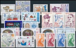 1986-1990 20 diff stamps, 1986-1990 20 klf bélyeg