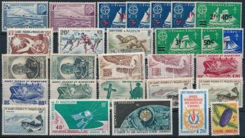 1945-1968 28 diff stamps, 1945-1968 28 klf bélyeg