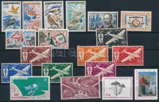 1963-1993 19 diff stamps, 1963-1993 19 klf bélyeg