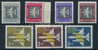 1957 Légiposta sor Mi 609-615