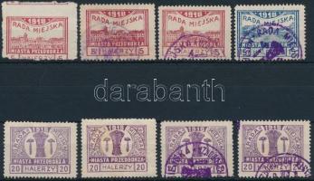 Przedbórz 8 stamps, Przedbórz 8 db bélyeg