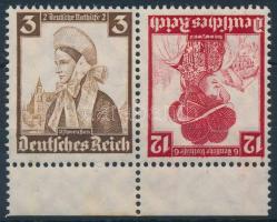 1935 Nothilfe ívszéli bélyegfüzet összefüggés Mi K26