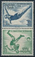 1936 Nyári olimpia Bélyegfüzet összefüggés Mi SK27