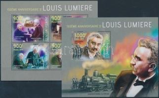 2014 Louis Lumiere kisív Mi 4565-4568 + blokk Mi 1126