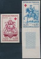1960 Vöröskereszt vágott sor Mi 1329-1330