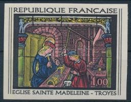 Művészet vágott bélyeg, Art imperf stamp