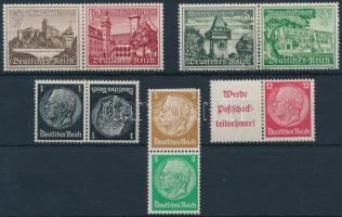 1934-1939 5 klf bélyegfüzet összefüggés