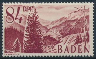 Baden Forgalmi, vasút Baden Definitive, Railway