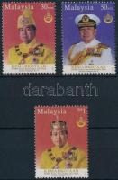 2003 Idris Shah szultán, uralkodó sor Mi 1179 A-C