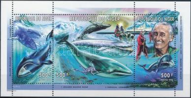 1998 Jacques-Yves Cousteau; Bálnák kisív Mi 1620-1622