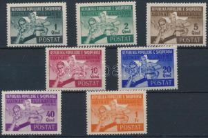 1946 Balkán játékok sor Mi 408-414